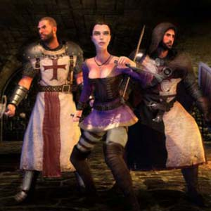 The First Templar Personnages