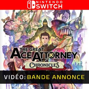 The Great Ace Attorney Chronicles Nintendo Switch Bande-annonce Vidéo
