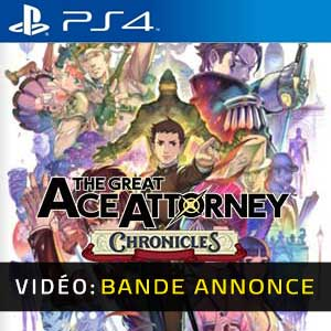 The Great Ace Attorney Chronicles PS4 Bande-annonce Vidéo
