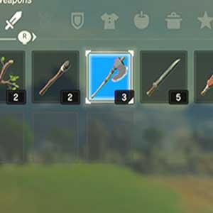 Inventaire des armes