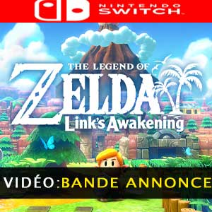 The Legend of Zelda Links Awakening bande-annonce vidéo