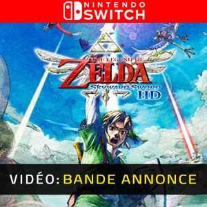 The Legend of Zelda Skyward Sword HD Nintendo Switch Bande-annonce Vidéo