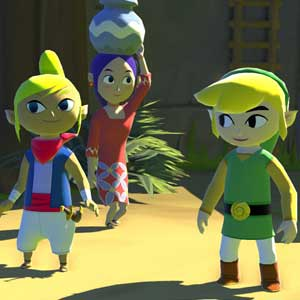 The Legend of Zelda The Wind Waker HD Wii U Personnages