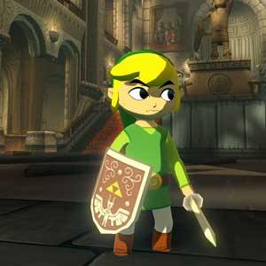The Legend of Zelda The Wind Waker HD Wii U Link