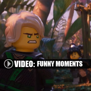 The LEGO NINJAGO Movie Video Game Moments drôles