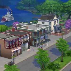 Sims 4 jeu de Gestion