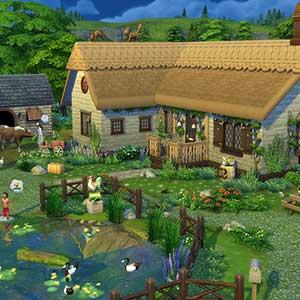The Sims 4 Cottage Living - Maison