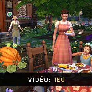 The Sims 4 Cottage Living Vidéo de gameplay