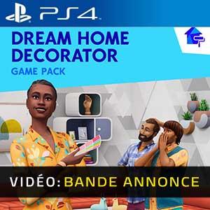 The Sims 4 Dream Home Decorator PS4 Bande-annonce Vidéo