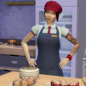 Sims 4 Au Travail Cuisinier