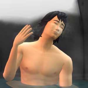 The Sims 4 Snowy Escape Expansion Pack Sources chaudes naturelles