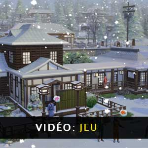 The Sims 4 Snowy Escape Expansion Pack Video Gameplay