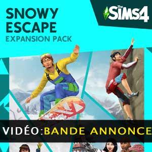 The Sims 4 Snowy Escape Expansion Pack Bande-annonce vidéo