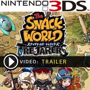 The Snack World Trejarers