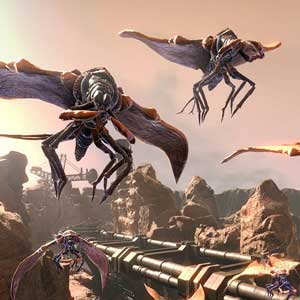 Creatures volantes dans The Technomancer