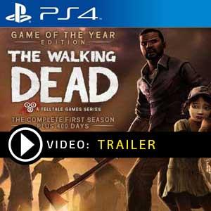 The Walking Dead PS4 en boîte ou à télécharger