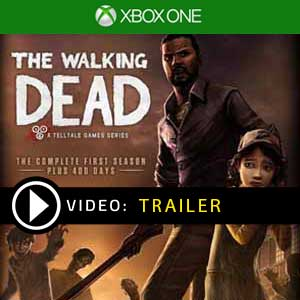 The Walking Dead Xbox one en boîte ou à télécharger