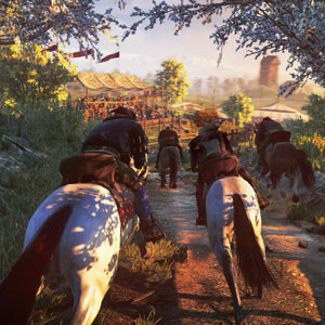 The Witcher 3 Wild Hunt Transport Cheval