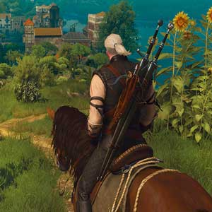The Witcher 3 Wild Hunt Blood and Wine Geralt