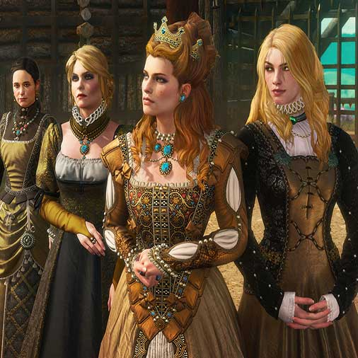 The Witcher 3 Wild Hunt Blood and Wine Sorceleur