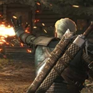 The Witcher 3 Wild Hunt Hearts of Stone PS4 Combat