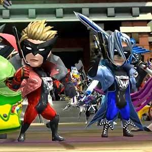 Des troupes de super-héros