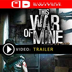 This War of Mine Nintendo Switch en boîte ou à télécharger