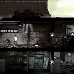 This War Of Mine The Little Ones PS4 Nouvelle maison