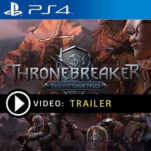Thronebreaker The Witcher Tales PS4 en boîte ou à télécharger