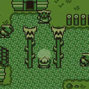 Timothy and the Mysterious Forest Gameboy graphics