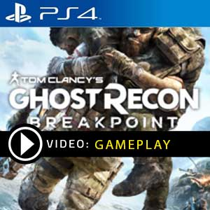 Ghost Recon Breakpoint PS4 en boîte ou à télécharger