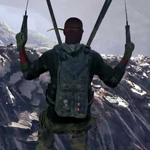 Tom Clancys Ghost Recon Wildlands PS4 Parachute