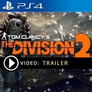 The Division 2 PS4 en boîte ou à télécharger