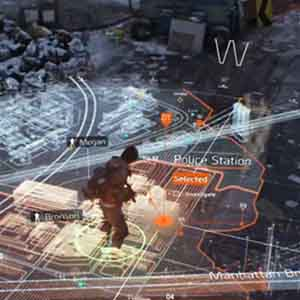 The Division Gameplay Carte