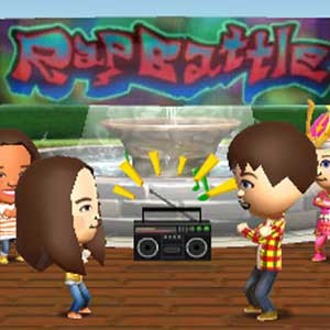 Tomodachi Life Nintendo 3DS Dansant