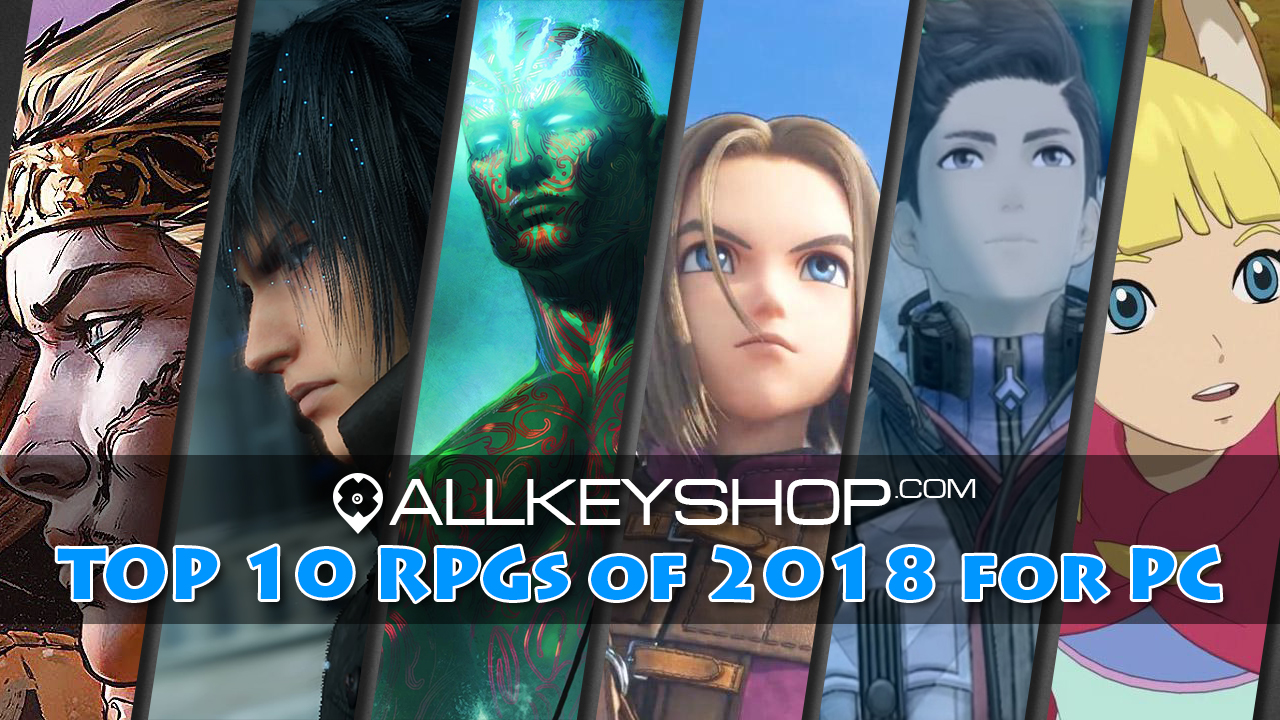 Top 10 RPGs of 2018 pour PC