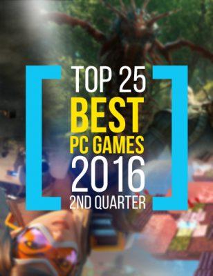 Top 25 Jeux PC 2016 selon Metacritic