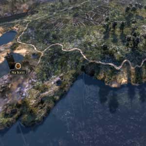 Conquête sur la carte Total War la plus détaillée