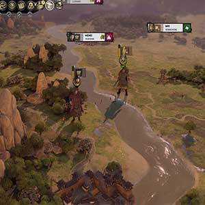 Total War THREE KINGDOMS Fates Divided Personnages