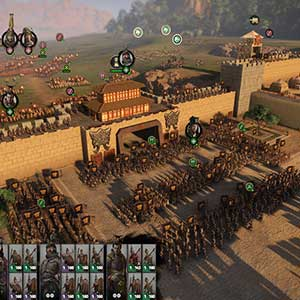 Total War THREE KINGDOMS Fates Divided Stronghold