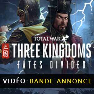 Total War THREE KINGDOMS Fates Divided Vidéo de la bande annonce
