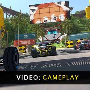TrackMania Gameplay Video