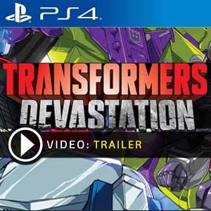 Transformers Devastation PS4 en boîte ou à télécharger
