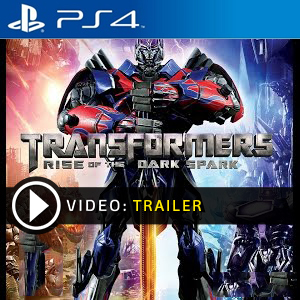 Transformers Rise Of The Dark Spark PS4 en boîte ou à télécharger