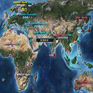 TransOcean 2 Rivals Carte du Monde