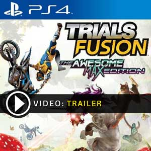 Trials Fusion The Awesome Max Edition PS4 en boîte ou à télécharger