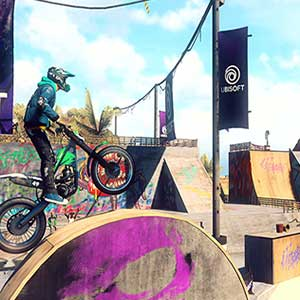 Trials Rising - Piste de course