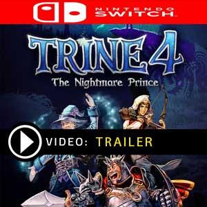 Trine 4 The Nightmare Prince Nintendo Switch en boîte ou à télécharger
