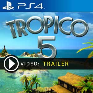Tropico 5 PS4 Prices Digital or Physical Edition