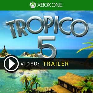 Tropico 5 Xbox One en boîte ou à télécharger